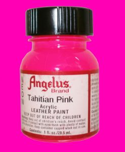 Tahitian Pink - Neon Leather Paint