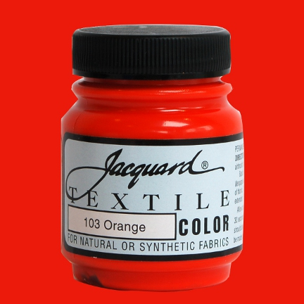 Orange - Fabric Paint