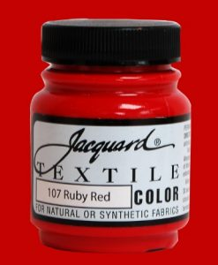 Ruby Red - Fabric Paint