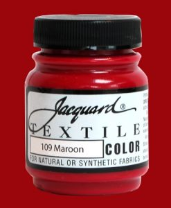 Maroon - Fabric Paint