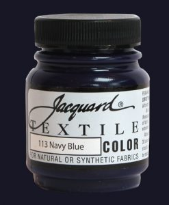 Navy Blue - Fabric Paint