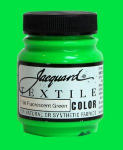Fluorescent Green - Fabric Paint