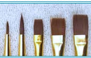 Loew-Cornell brush set 1