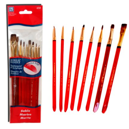 Loew-Cornell brush set 3