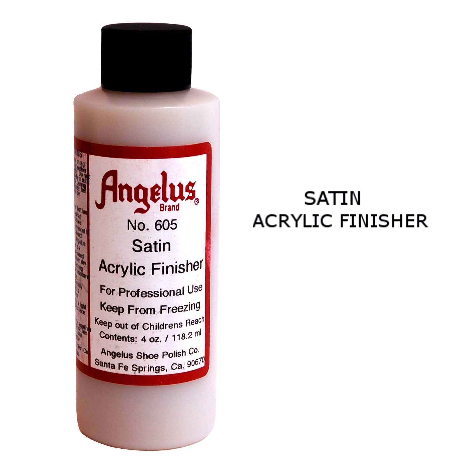 Angelus Satin Acrylic Finisher - Leather Dye