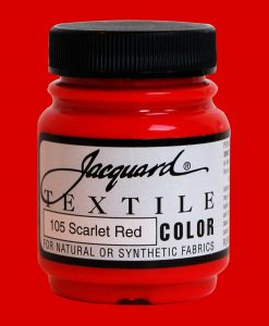 Scarlet Red - Fabric Paint