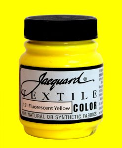 Fluorescent Yellow - Fabric Paint