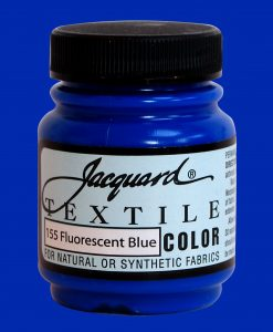 Fluorescent Blue - Fabric Paint