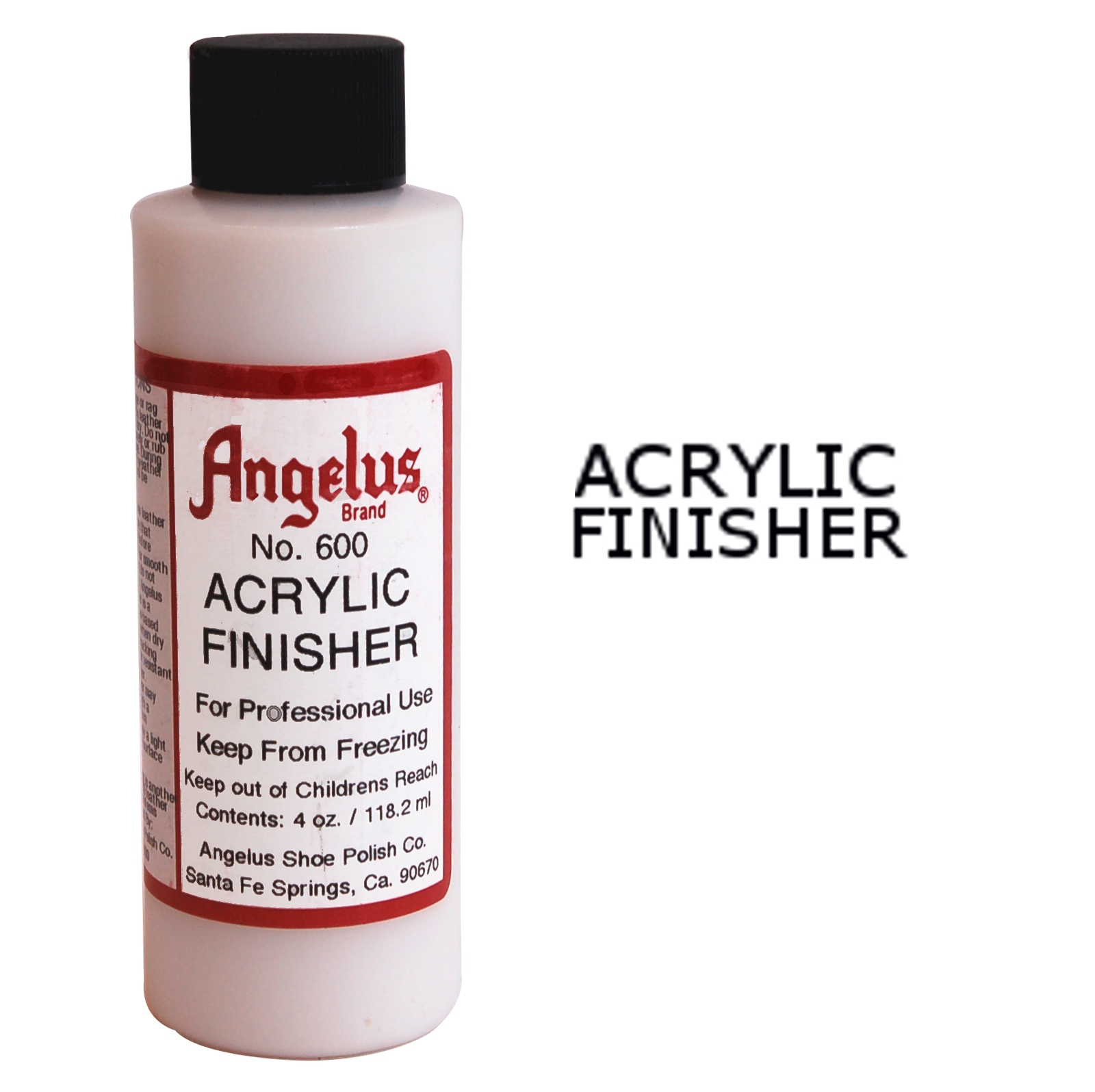 Angelus Gloss Acrylic Finisher - Leather Dye
