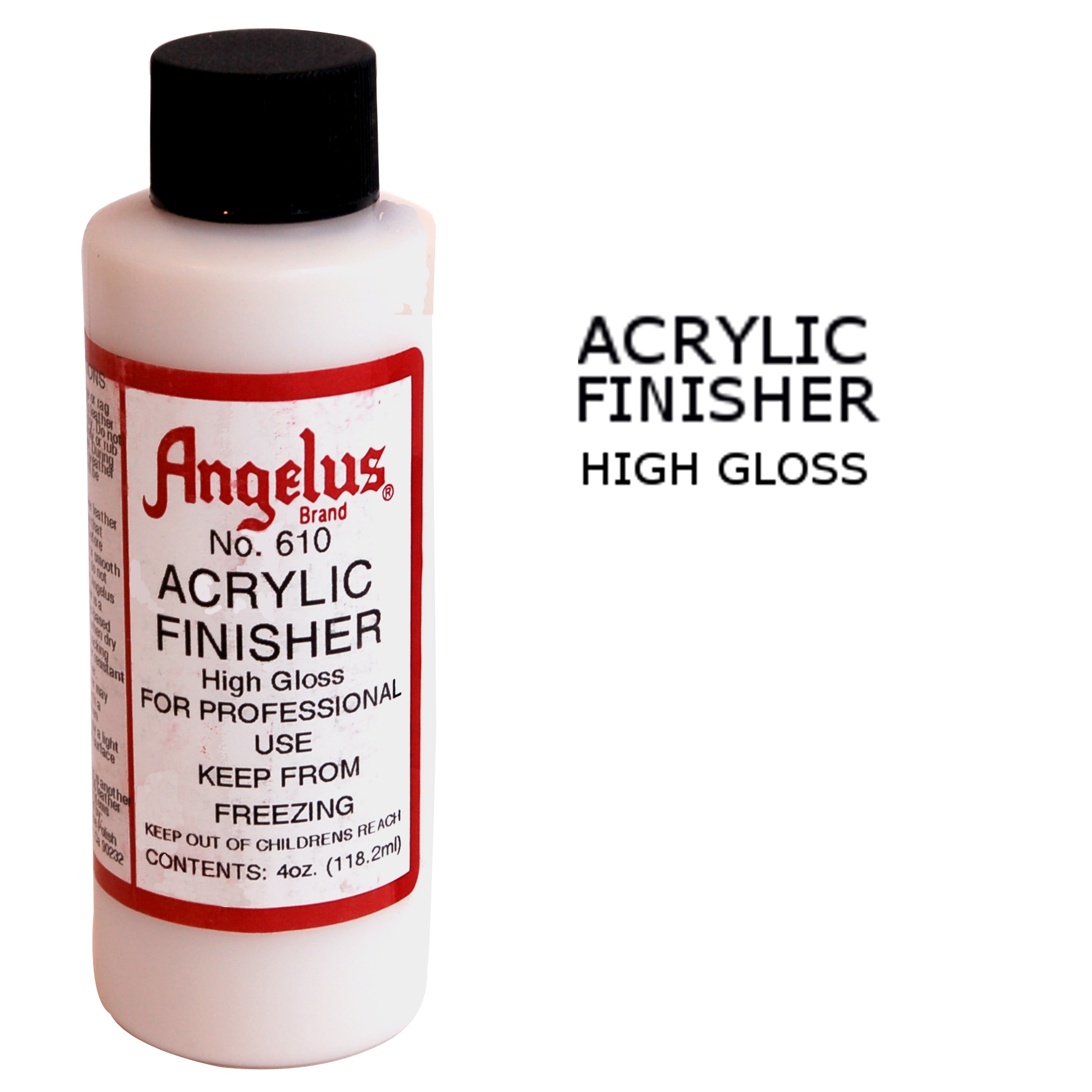 Angelus High Gloss Finisher - Leather Dye