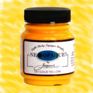 Neopaque Gold Yellow - Fabric Paint