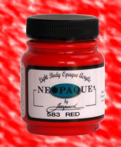 Neopaque Red - Fabric Paint