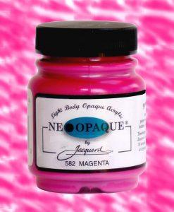 Neopaque Magenta - Fabric Paint