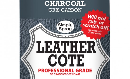 Spray Leather Cote Charcoal - Upholstery Spray Paint