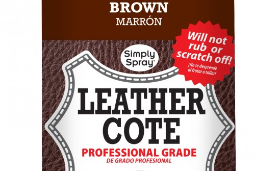 Spray Leather Cote Brown - Upholstery Spray Paint