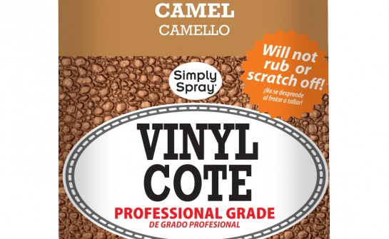 Spray Vinyl Cote Camel - Upholstery Spray Paint