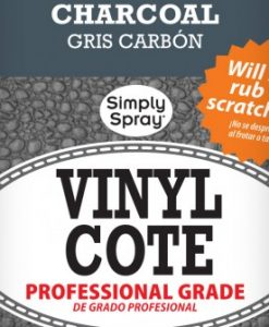 Spray Vinyl Cote Charcoal - Upholstery Spray Paint
