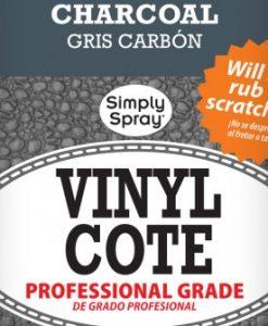 Spray Vinyl Cote Charcoal - Upholstery Spray Paint
