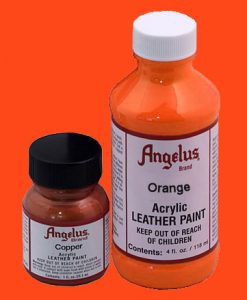 Orange - Leather Paint