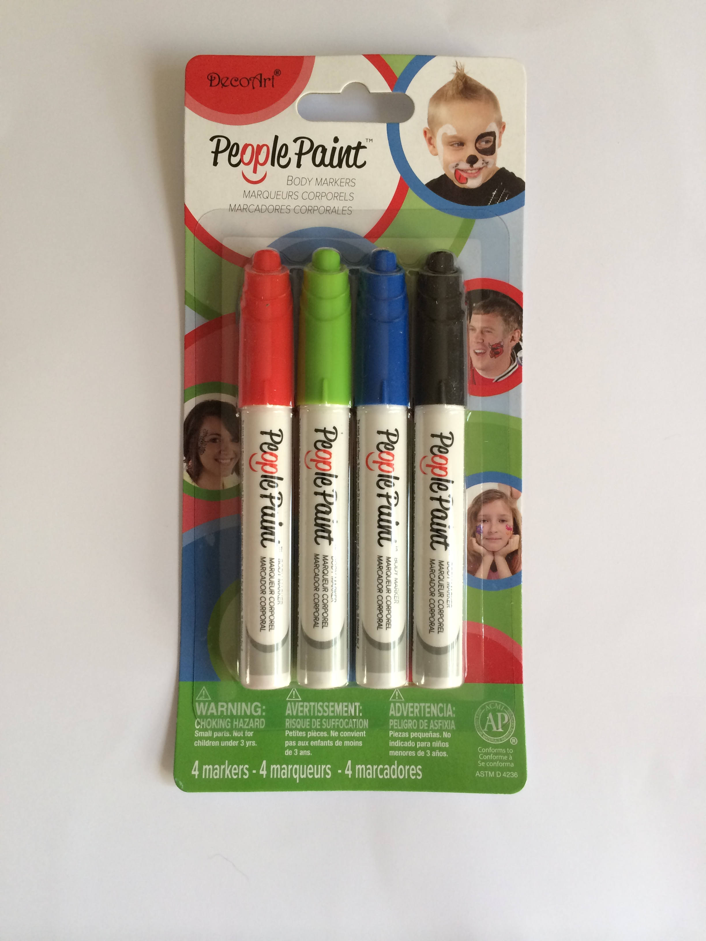 Deco Art People Paint Body Markers