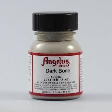 angelus leather paint dark bone