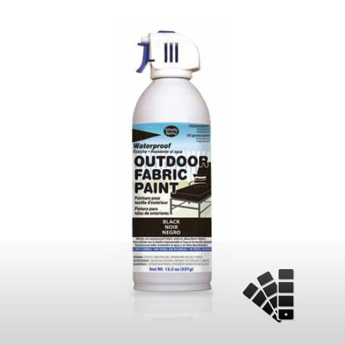 Black Waterproof Outdoor Material Paint
