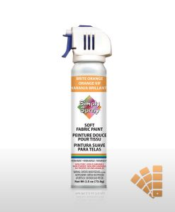 Bright Orange - Fabric Spray Paint