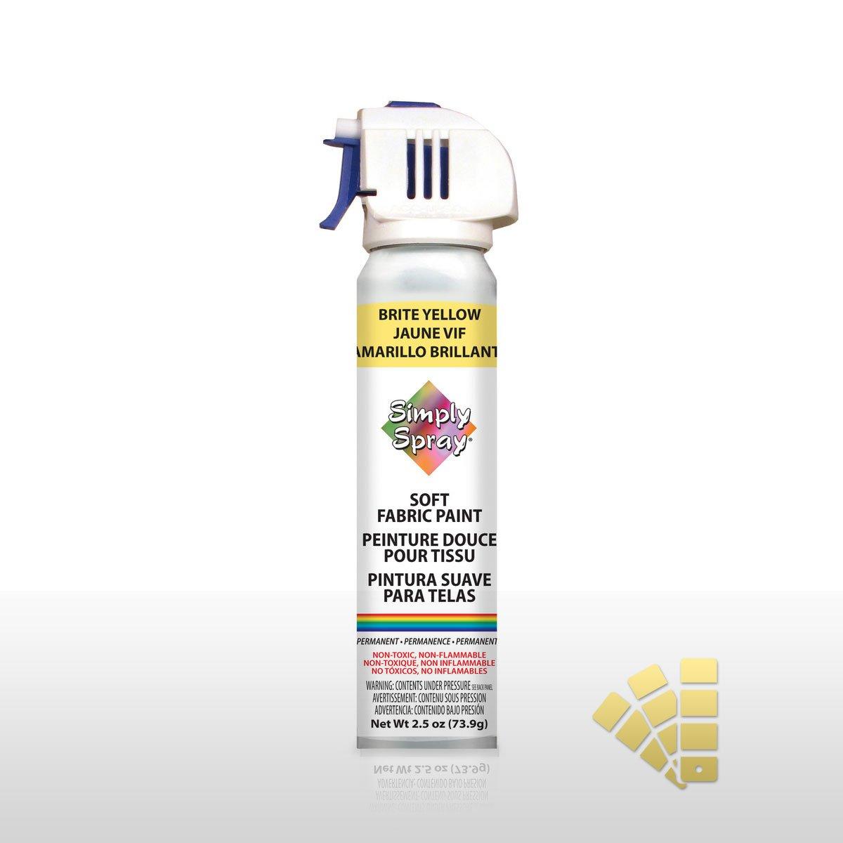 Bright Yellow - Fabric Spray Paint