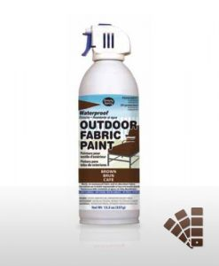 Brown Waterproof Outdoor Material Paint