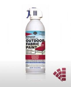 Burgundy Waterproof Outdoor Material Paint