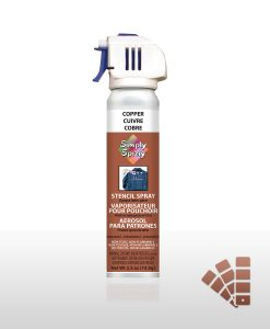 Copper - Stencil Spray Paint