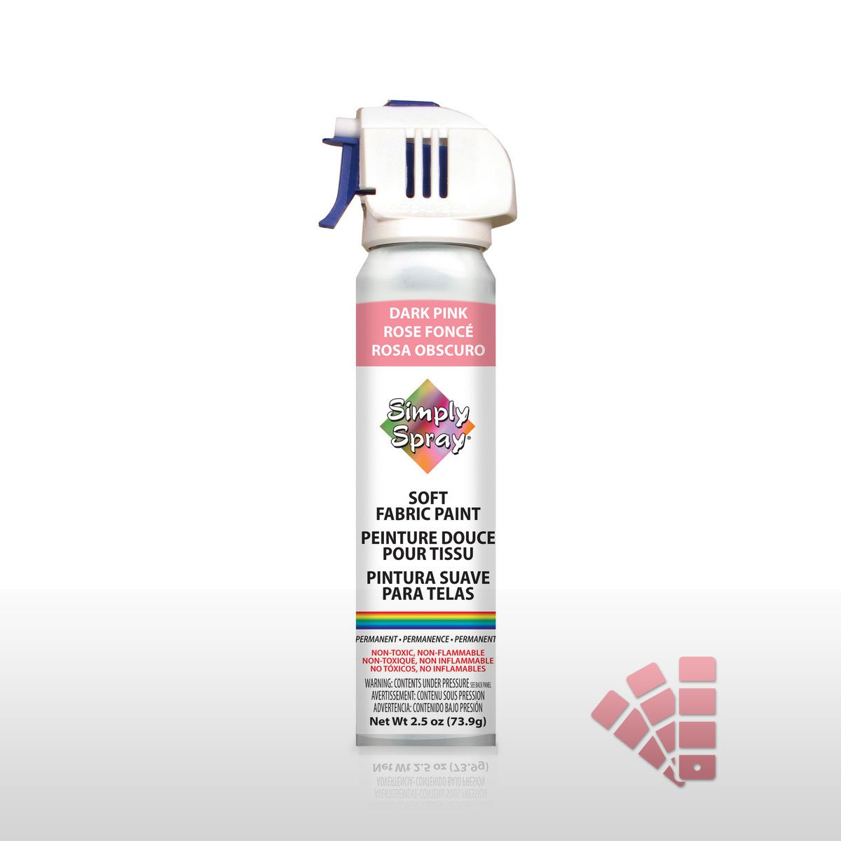 Dark Pink - Fabric Spray Paint