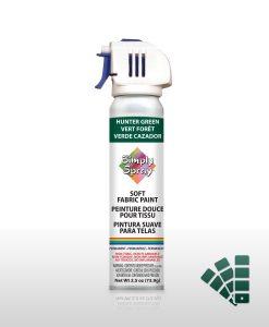 Hunter Green - Fabric Spray Paint