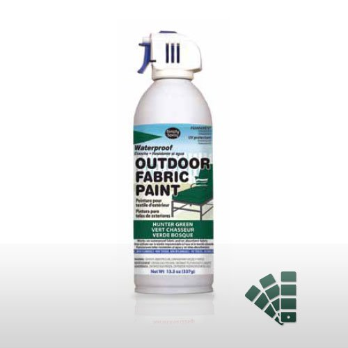 Hunter Green Waterproof Outdoor Material Paint