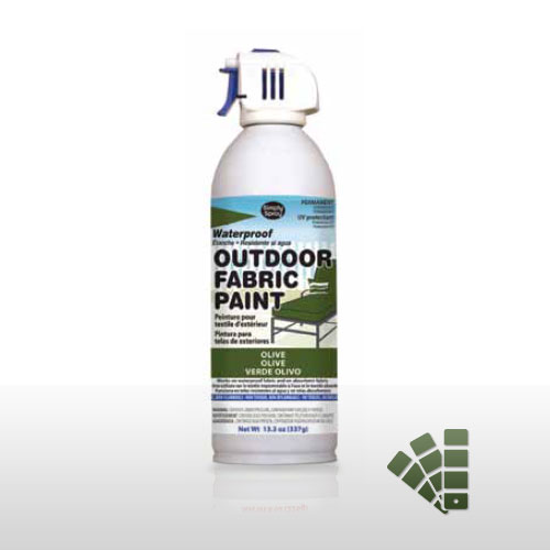 Olive Green Waterproof Outdoor Material Paint