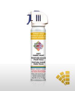 Sunset Gold - Fabric Spray Paint