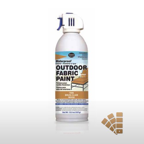 Tan Waterproof Outdoor Material Paint