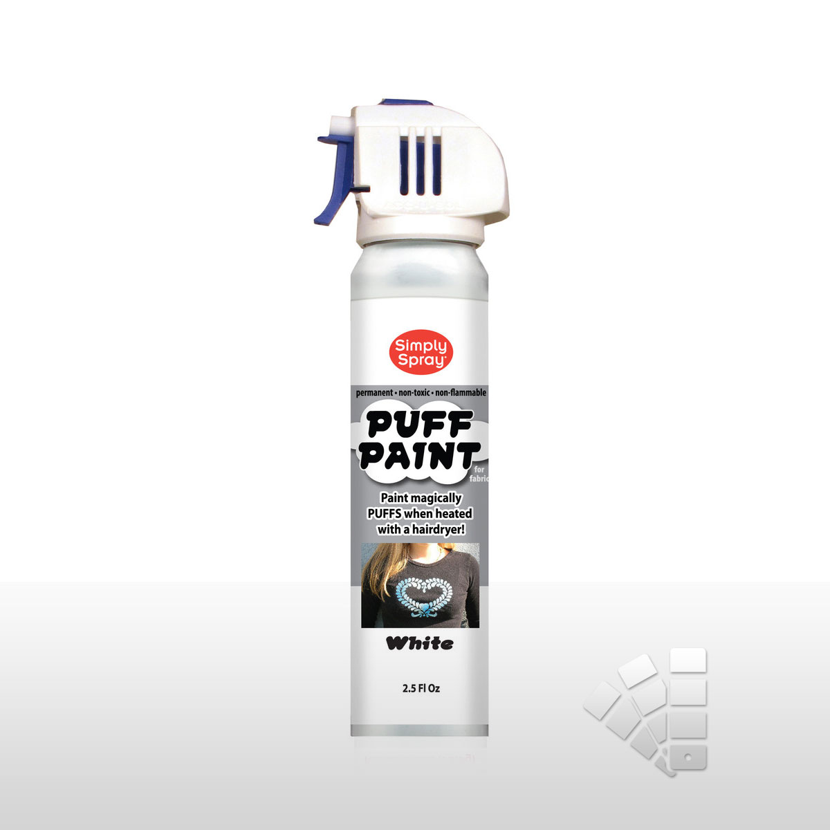 Puff Paint White - Fabric Paint